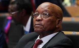 Le président sud-africain Jacob Zuma