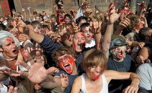 Zombie Walk à Strasbourg. (Archives)