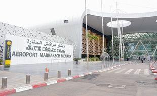 L'entrée de l'aéroport de Marrakech, au Maroc. (archives)