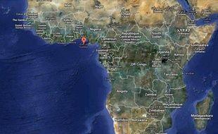 Illustration Golfe de Guinée
