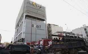 Le siège de la société pakistanaise Axact à Karachi