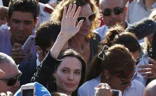 Angelina Jolie, le 20 juin 2015, à Mardin, en Turquie.