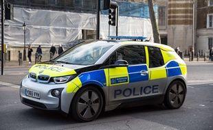 Une voiture de la police britannique (illustration).