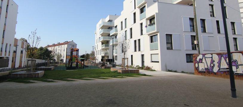 Illustration de logements neufs livrés à Rennes, où le marché immobilier est dynamique. Ici l'ancienne brasserie Kronenbourg, à Saint-Hélier.