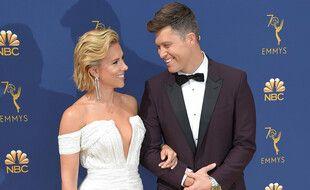Les époux Scarlett Johansson et Colin Jost