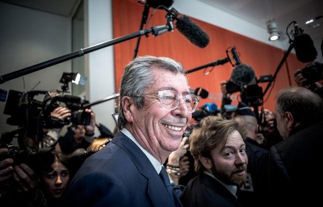 Patrick Balkany, maire LR de Levallois, le 13 mai 2019 au Tribunal de Grande Instance de Paris.