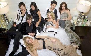 Les héros de la série originale «Gossip Girl».