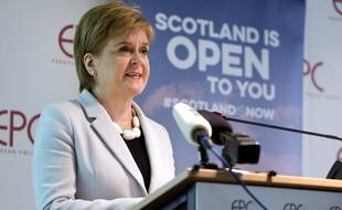 La Première ministre écossaise Nicola Sturgeon réclame un nouveau référendum d'indépendance pour rejoindre l'UE.