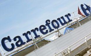L'enseigne du groupe Carrefour.
