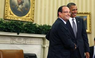 François Hollande et Barack Obama, le 18 mai 2012, à Washington.