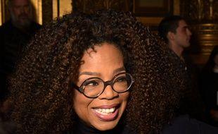 La présentatrice vedette Oprah Winfrey.