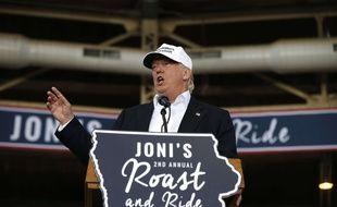 Donald Trump à Des Moines (Iowa), le 27 août 2016.