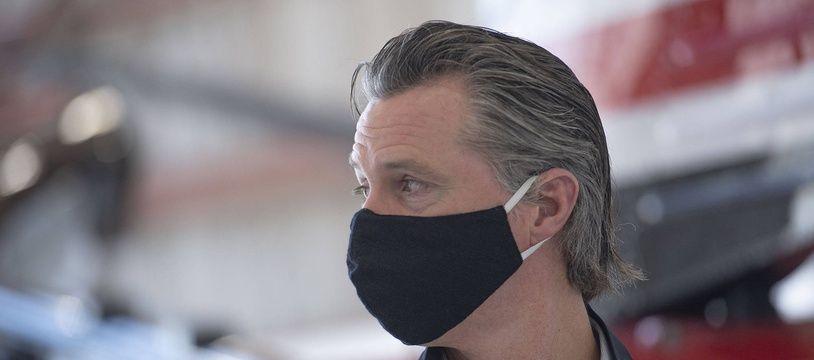 Le gouverneur de Californie, Gavin Newsom, le 9 juillet 2020.