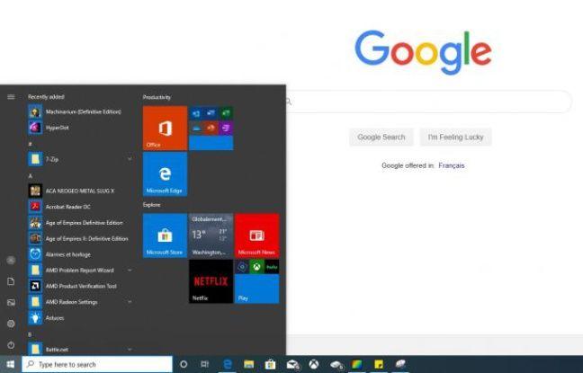 Comment rendre plus ergonomique le menu Démarrer de Windows 10