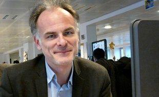 Romain Gubert, journaliste au Point