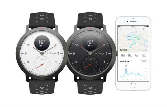 La Steel HR Sport fête le retour de Withings aux affaires.