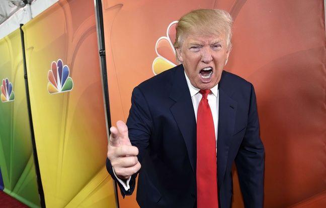 Donald Trump, le 16 janvier 2015, avant une conférence de presse de NBC à Pasadena (Californie). Chris Pizzello/Invision via AP, File/Sipa