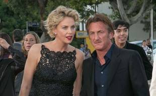 Charlize Theron et Sean Penn le 15 mai 2014 à Los Angeles