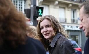 Nathalie Kosciusko-Morizet, candidat UMP à la Mairie de Paris, était jeudi 12 décembre à Gare du Nord pour parler sécurité.