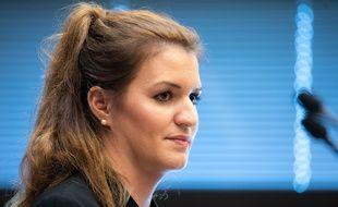 Marlene Schiappa, secrétaire d'Etat chargée de l'Egalité entre les femmes et les hommes, le 14 février 2019 à Paris.