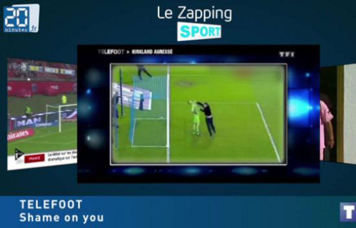 Zap sport, 22 octobre 2012. – 20 MINUTES