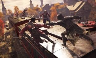 Assassin's Creed Syndicate permet d'emprunter le train.