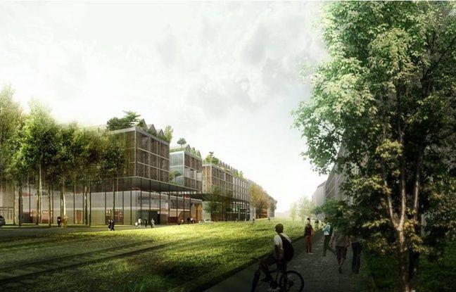Le paysage a une place centrale dans le projet urbain qui s'étend sur 53 hectares au total.
