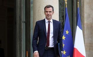 Olivier Véran, ministre des Solidarités et de la Santé, le 17 juin 2020 à l'Elysée.