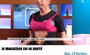 Michel Cymes, dans Le Magazine de la santé sur France 5.