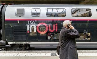 Un TGV l'Océane à la gare Saint-Jean de Bordeaux.