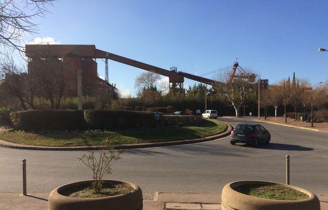 L'imposante usine d'Altéo à Gardanne.