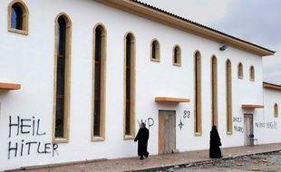 La future mosquée de Saint-Etienne a été profanée dans la nuit du 7 au 8 février 2010.