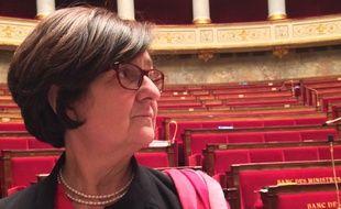 La députée PS Colette Capdevielle