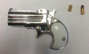 Illustration d'un pistolet.
