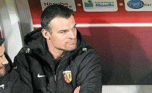 Christophe Delmotte a déjà occupé le poste d'entraîneur adjoint au RC Lens.