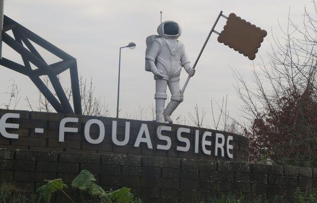Le rond point de la Haye-Fouassière