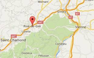 Rive-de-Gier, dans la Loire.