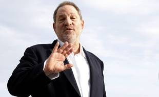 Harvey Weinstein au MipCom de Cannes, en octobre 2015.