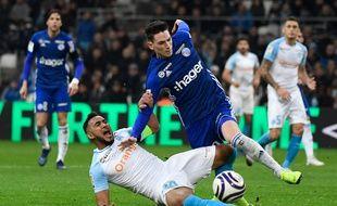 Dimitri Payet a manqué un pénalty et un tir au but face à Strasbourg.