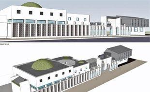 Située face à la Cité de l'Ill, la future moquée de la Robertsau abritera une salle de prière et un espace culturel.