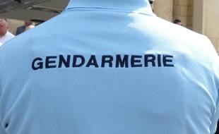 Un gendarme. Illustration.