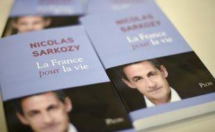 La couverture du livre de Nicolas Sarkozy, le 22 janvier 2016