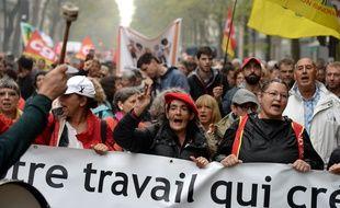 Lors de la manifestation du 24 septembre 2019, à Paris.