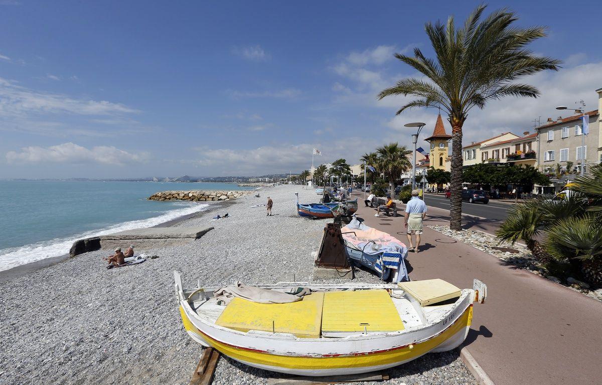 La front de mer à Cagnes-sur-Mer. – VALERY HACHE / AFP