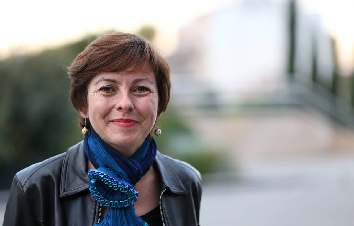 Carole Delga, Candidate PS aux Elections Regionales Languedoc-Roussillon Midi-Pyrenee 2015 – SIPA