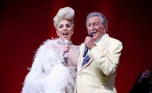 La chanteuse Lady Gaga et Tony Bennett