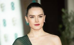 L'actrice Daisy Ridley