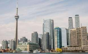 La ville de Toronto au Canada, le 25 avril 2021.