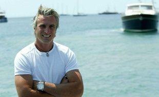 L'ancien footballeur David Ginola lors du Festival de Cannes 2004