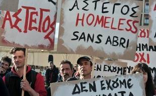 """La Grèce n'ayant pas instauré un revenu de solidarité du type du RSA en France, elle est privée """"d'un outil social indispensable pour lutter contre l'extrême pauvreté"""", relève Katerina Poutou, responsable du Réseau de lutte contre la pauvreté."""